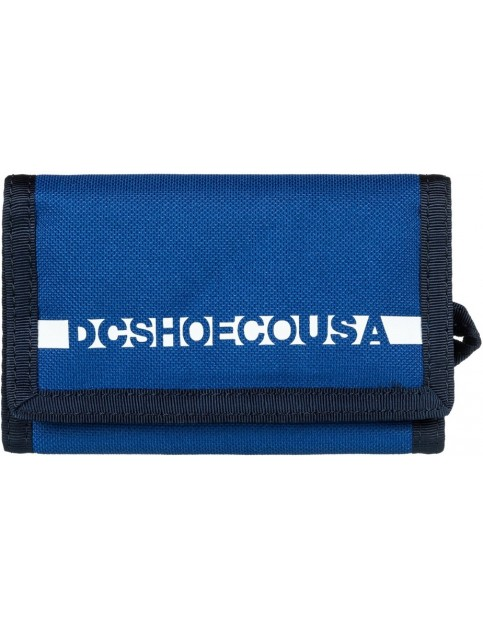 DC Ripstop 2 Wllt Polyester Wallet in Sodalite Blue