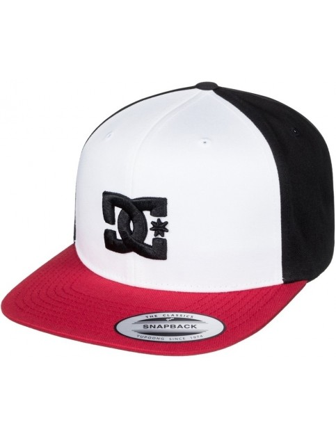 DC Snappy Cap in Black/Show White