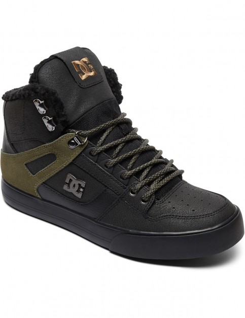 DC Spartan High Heavy Weather Boots in Black/Olive