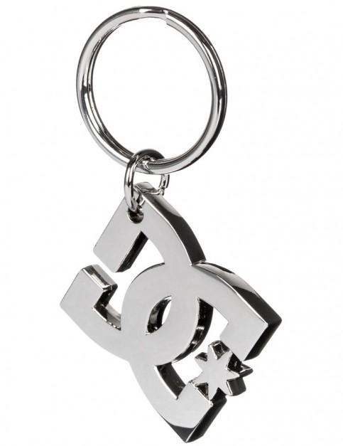 DC Star Keychain Tool Fun Stuff in Silver