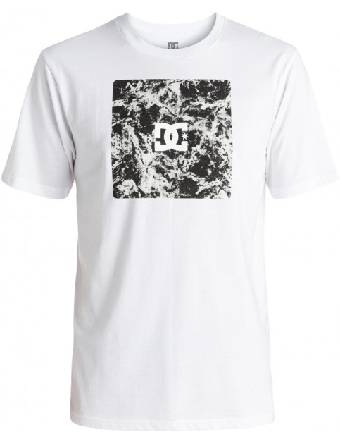 DC Storm Box Short Sleeve T-Shirt in Snow White