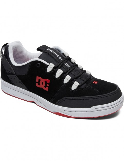 DC Syntax Trainers in Black/Grey/Red