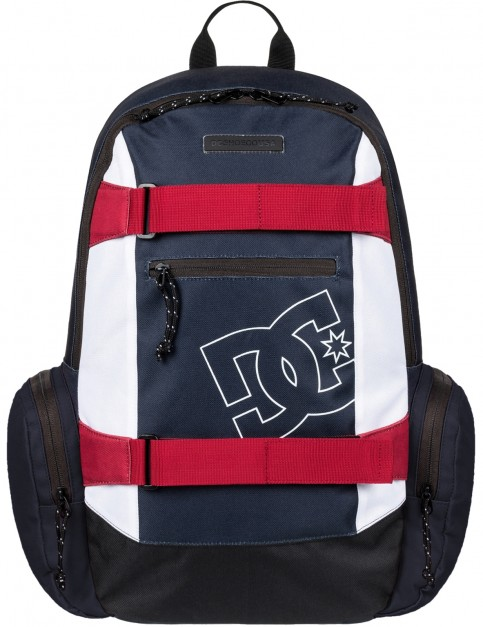 DC The Breed Skate Backpack in Black Iris