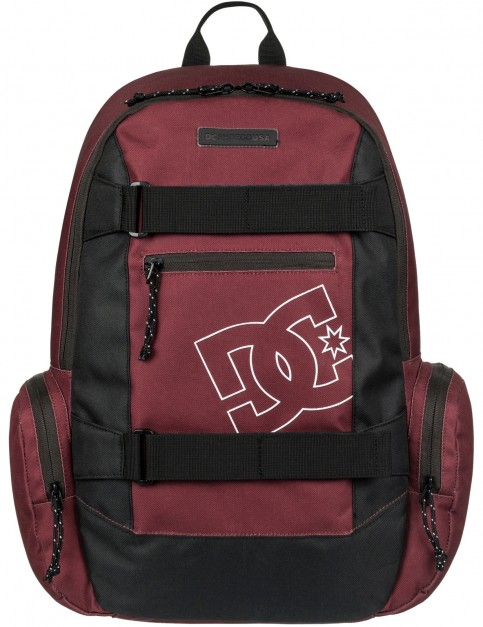 DC The Breed Skate Backpack in Cabernet