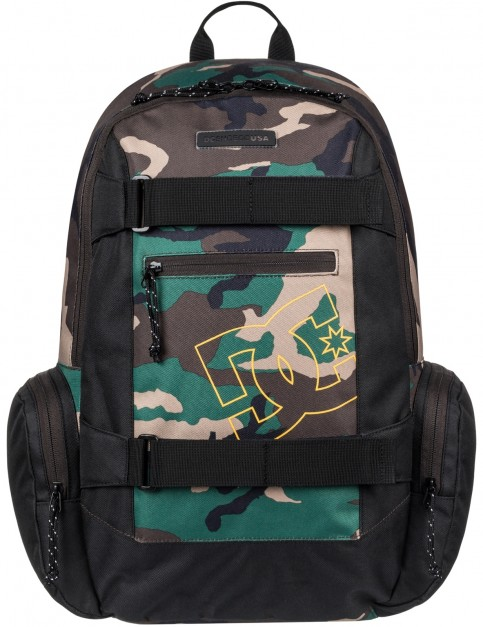 DC The Breed Skate Backpack in Camo