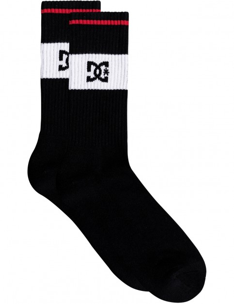 DC To Me Crew Socks in Black