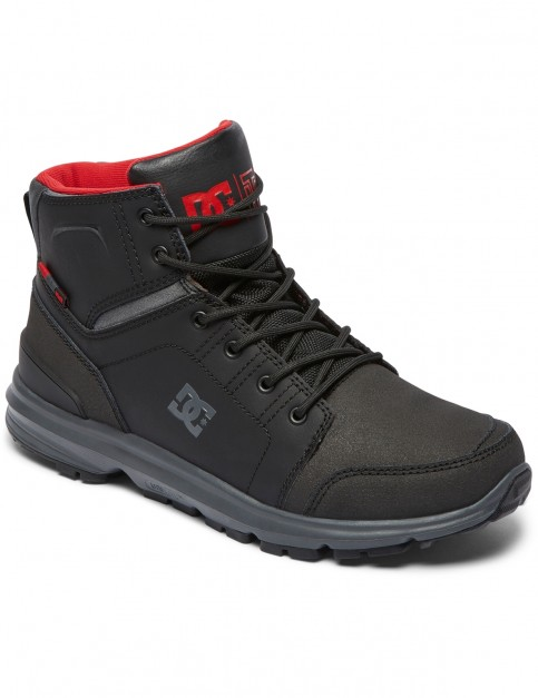 DC Torstein Trainers in Black/Grey/Red