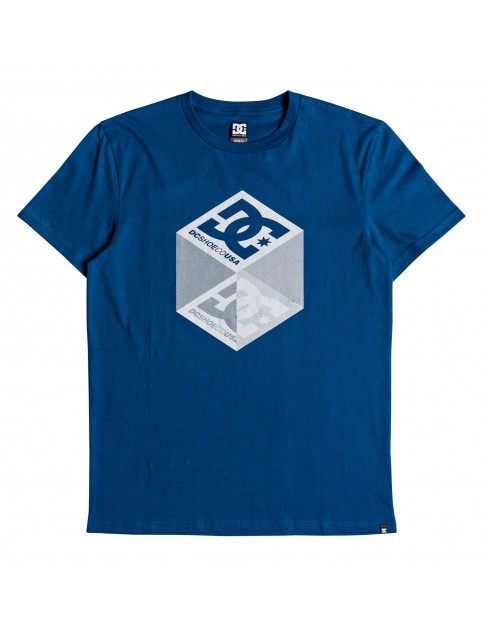 DC Volume Short Sleeve T-Shirt in Sodalite Blue