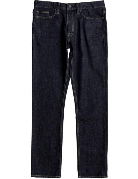 DC Worker Straight Fit Jeans in Indigo Rinse