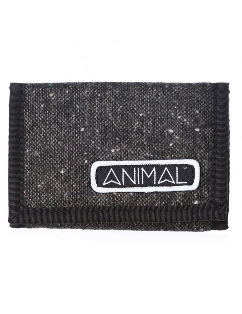 Animal Fielding Fabric Wallet in Steel Grey