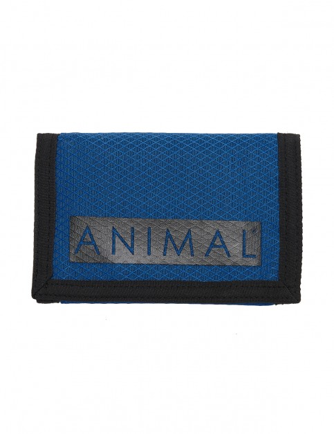 Animal Vexation Polyester Wallet in Lethal Blue
