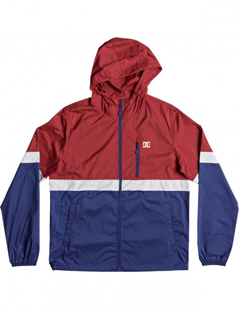 DC Dagup Triple Block Jacket in Tango Red