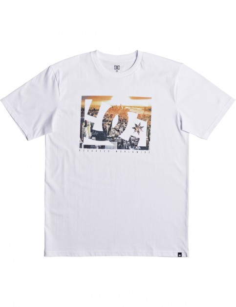 DC Empire Henge Short Sleeve T-Shirt in Snow White