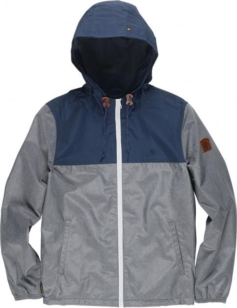 Element Alder 2 Tones Jacket in Mid Grey Htr