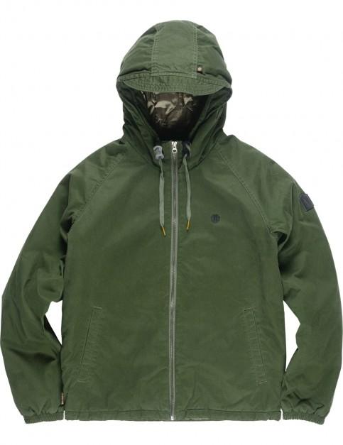 Element Alder Raglan Jacket in Olive Drab