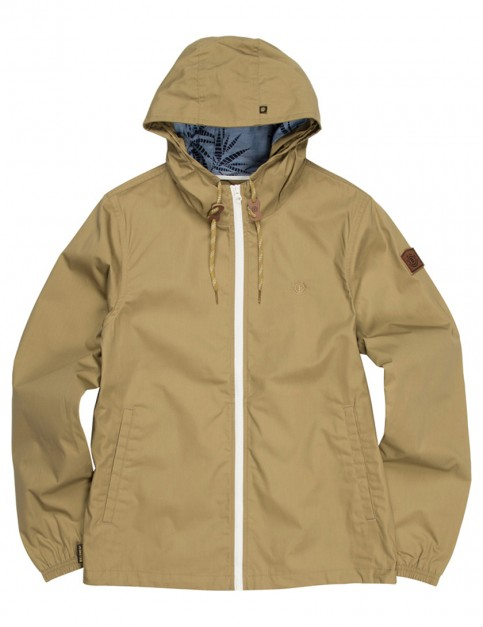 Canyon Khaki Element Alder Rain Jacket