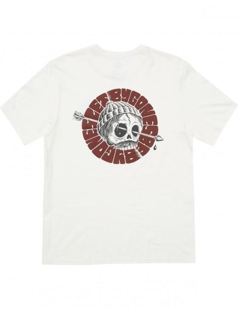 Element Around Ss Short Sleeve T-Shirt in Bone White