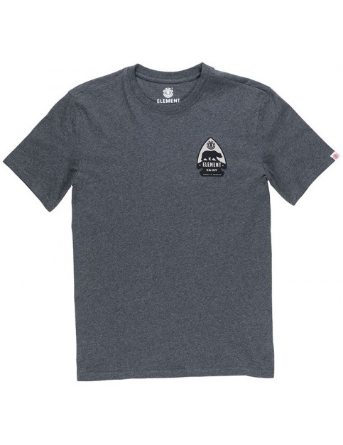 Element Arrow Short Sleeve T-Shirt in Charcoal Heather