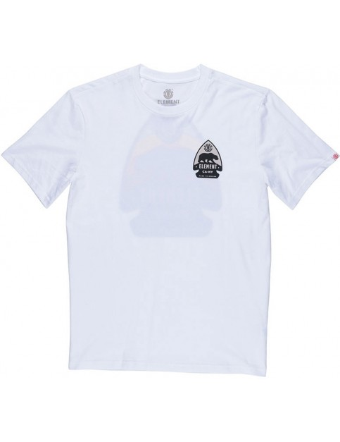 Element Arrow Short Sleeve T-Shirt in Optic White