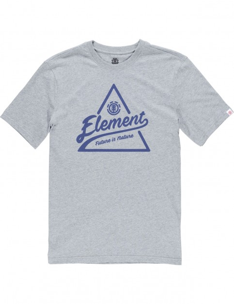 Element Ascent Short Sleeve T-Shirt in Grey Heather