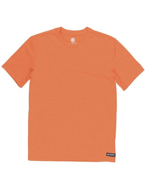Element Basic Crew Short Sleeve T-Shirt in Hazard Orange Heather