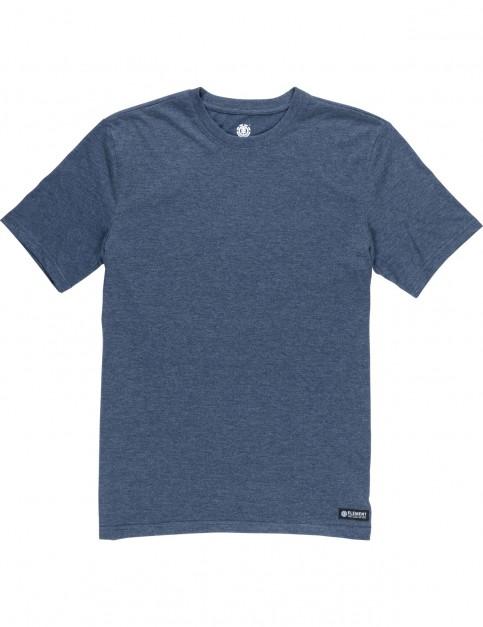 Element Basic Crew Short Sleeve T-Shirt in Indigo Heather