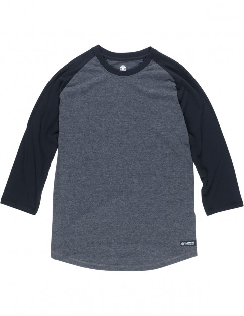 Element Basic Raglan Short Sleeve T-Shirt in Charcoal Heather