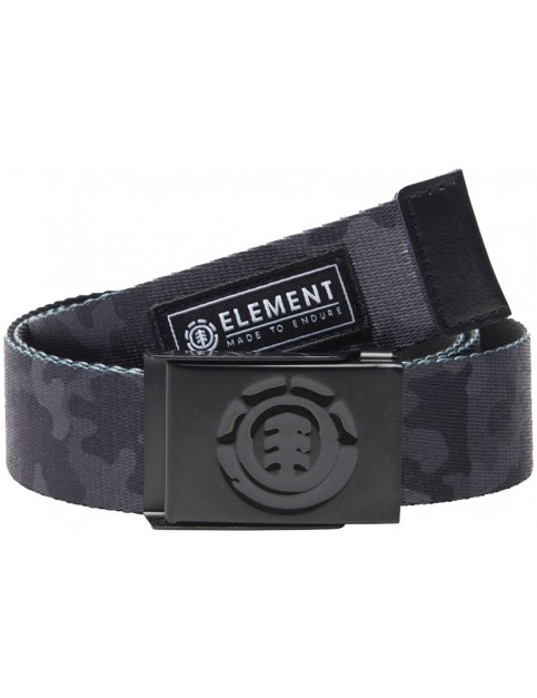 Element Beyond Webbing Belt in Bark Camo