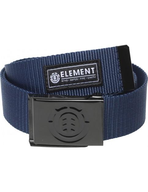 Element Beyond Webbing Belt in Midnight Blue