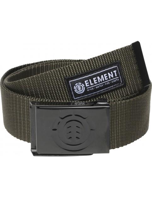Military Green Element Beyond Webbing Belt
