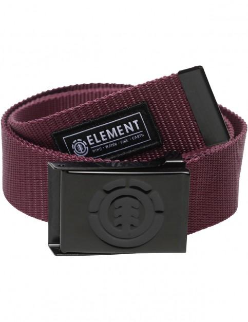 Element Beyond Webbing Belt in Napa Red