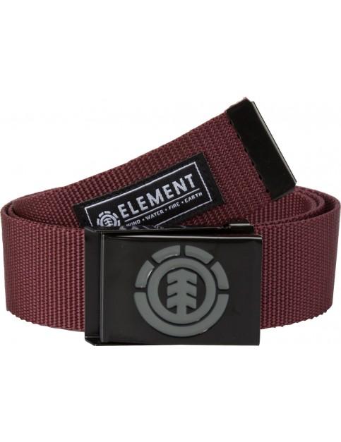 Brown Purple Element Beyond Webbing Belt