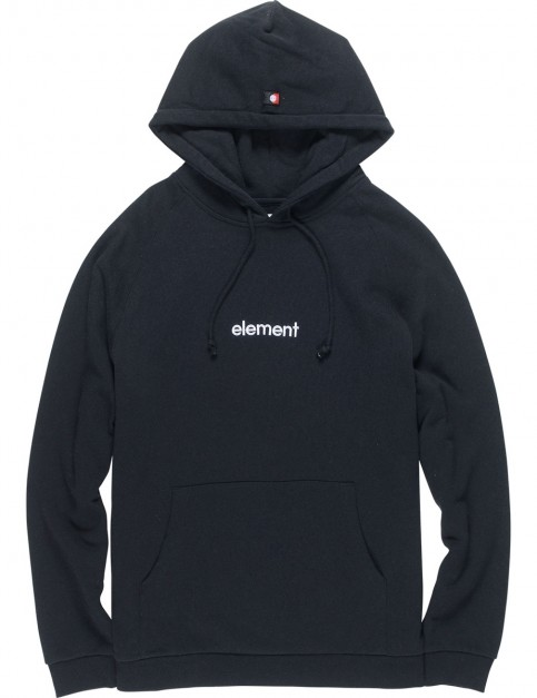Element Big Hood Pullover Hoody in Flint Black