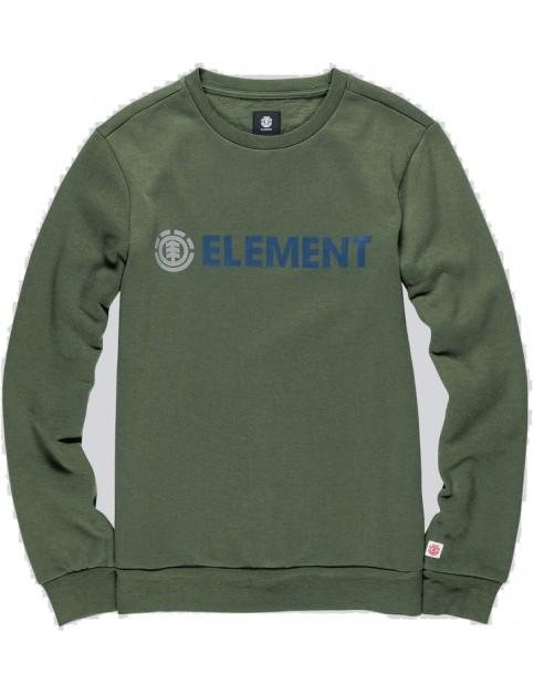 Element Blazin Crew Sweatshirt in Olive Drab