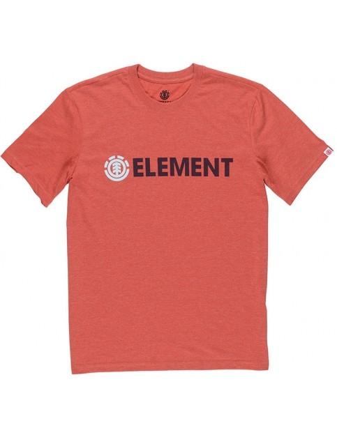 Element Blazin Short Sleeve T-Shirt in Aurora Red Heather