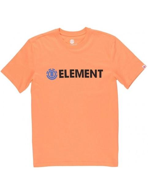Element Blazin Short Sleeve T-Shirt in Cadium Orange