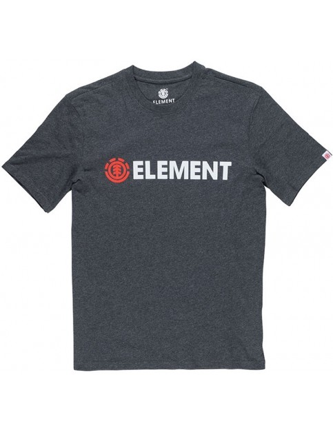 Element Blazin Short Sleeve T-Shirt in Charcoal Heather