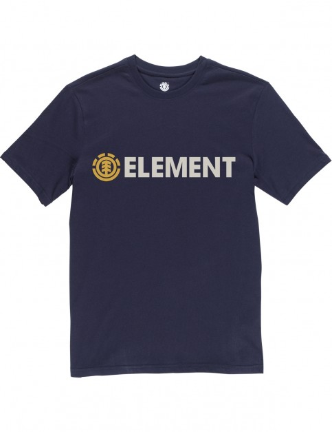 Element Blazin Short Sleeve T-Shirt in Eclipse Navy