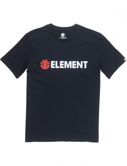 Element Blazin Short Sleeve T-Shirt in Flint Black