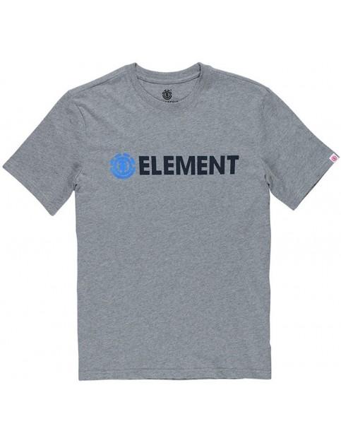 Element Blazin Short Sleeve T-Shirt in Grey Heather