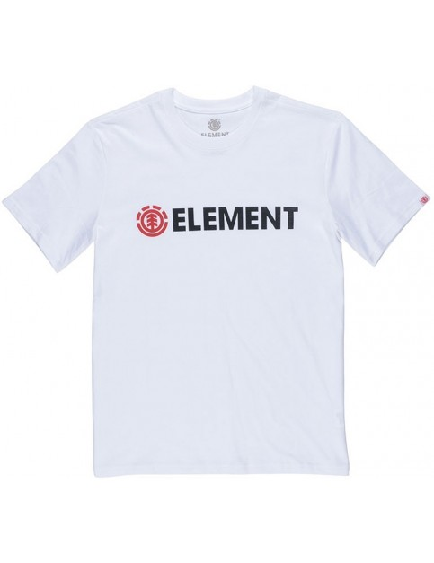Element Blazin Short Sleeve T-Shirt in Optic White