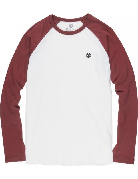 Element Blunt Long Sleeve T-Shirt in Bone White