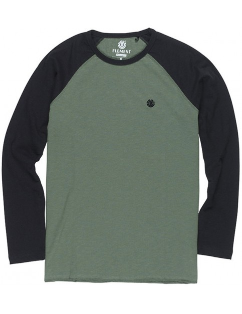 Element Blunt Long Sleeve T-Shirt in Duck Green