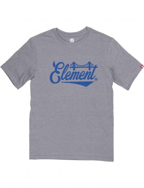 Element Bridge Short Sleeve T-Shirt in Grey Heather