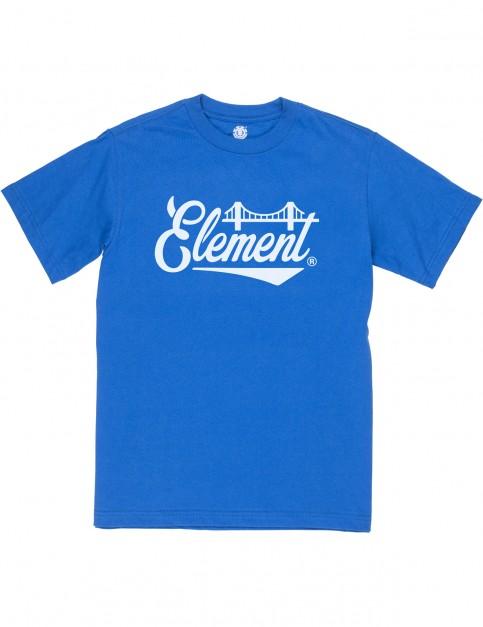 Element Bridge Short Sleeve T-Shirt in Olympian Blue