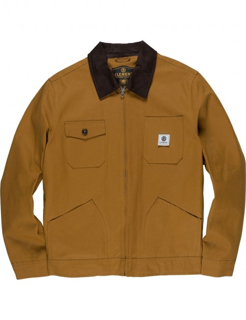 Element Bronson Jacket in Gold Brown
