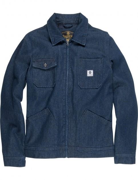 Element Bronson Jacket in Raw Indigo