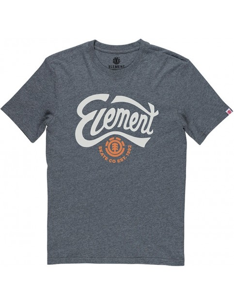 Element Bump Short Sleeve T-Shirt in Charcoal Heather