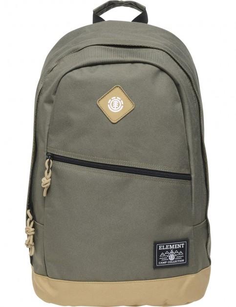 Element Camden Backpack in Moss Green
