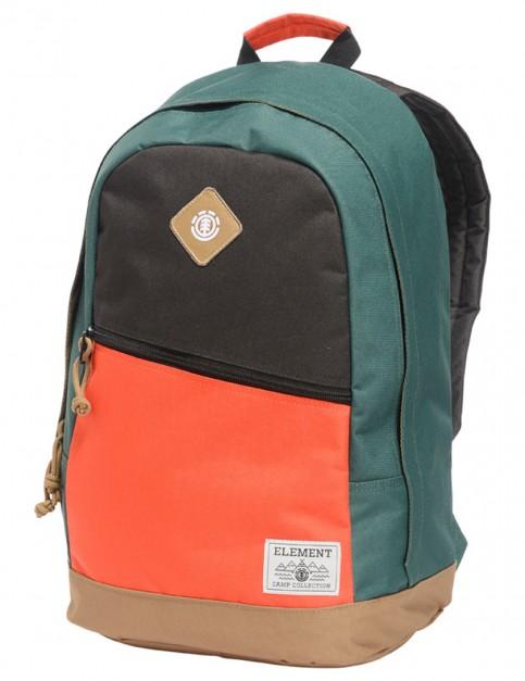 Flint Black and Amber Orange Element Camden Backpack